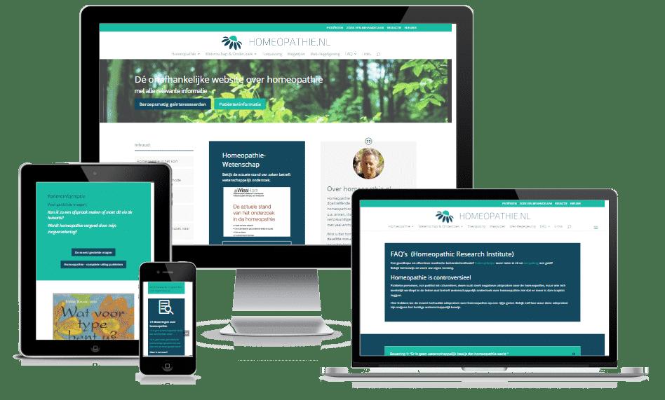 Dé onafhankelijke website over homeopathie, met alle relevante informatie