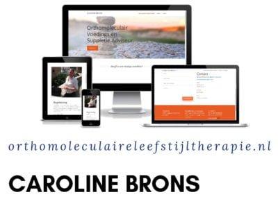 Caroline Brons – Orthomoleculair Voedings en Suppletie Adviseur