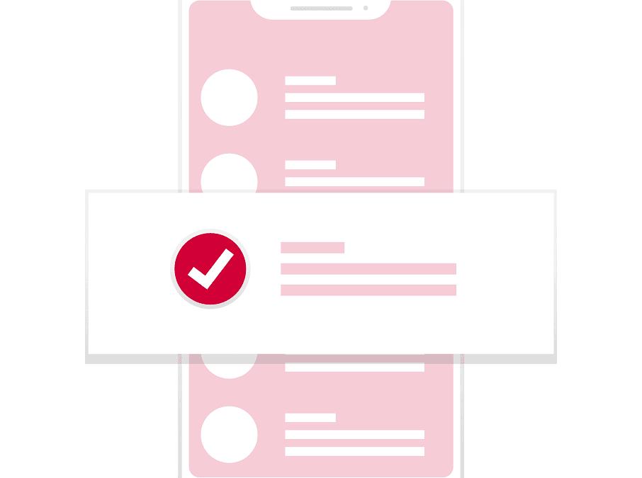 Checklist live zetten