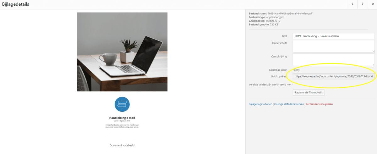 PDF op je wordpress website plaatsen