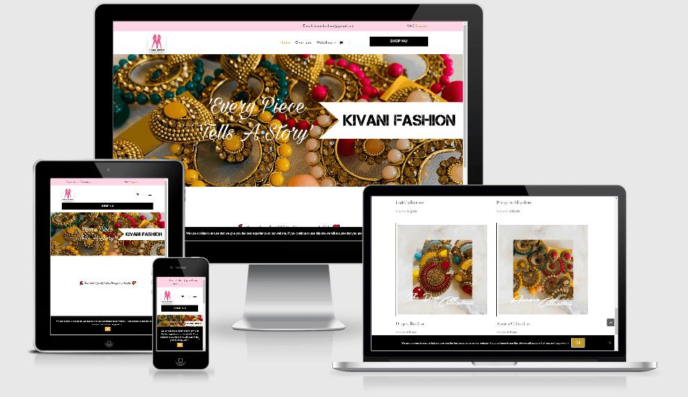 Kivani Fashion Webshop