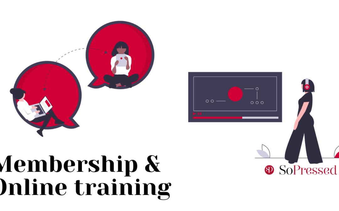 Membership of Online training